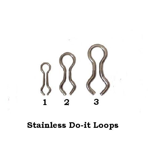 500 BLACK COATED STAINLESS STEEL MOULD LOOPS FOR SEA CARP FISHING LEADS WEIGHTS