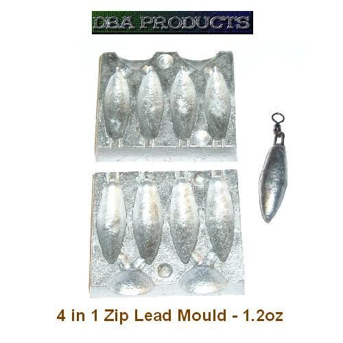 Carp and Specialist Lead Moulds by Fishing Weight Moulds